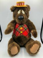 Vintage 1965 Large Humphrey B Bear Jointed Teddy Plush Soft Stuffed Toy Animal