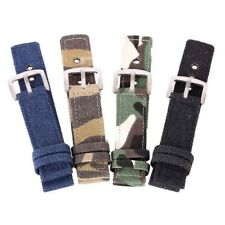 2piece Nylon Watch Strap Army Military Band For Tissot Citizen Timex Oris Seiko