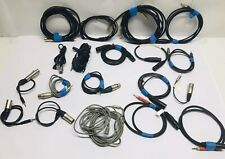 Lot of Professional Audio Cables - XLR - Neutrik, etc. - 21 Cables Total