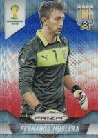 2014 Prizm FIFA World Cup Soccer Blue Red Wave #189 Fernando Muslera Uruguay