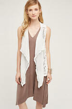 NWT Anthropologie Draped Lace Vest, by Lilka - size M