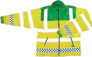 Paramedic Fleece EMT Jacket Ambulance Warm Anti Pile EN471 CL 3 M L XL 2XL 3XL