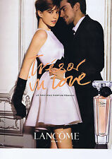 PUBLICITE ADVERTISING 064 2010 LANCOME Trésor in love senteur féminine