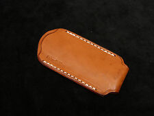 """Slim Leather Sheath for knife 4-4,25"""" New"""