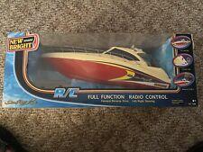 "BRAND NEW New Bright Marine #7185 ""Sea Ray"" RC Boat  49 MHz .RADIO CONTROL"