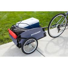Schwinn Daytripper Cargo Trailer Gray/Red Bike Storage Carrier Transport Bicycle