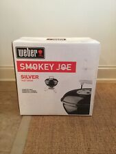 Weber 10020 Smokey Joe Silver Charcoal Bbq Portable Grill Color Black