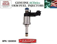 YRS 08-11 Cadillac STS 3.6L V6 | x1 Refurb Fuel Injector MP#12638530 OEM ACDelco