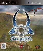 Used PS3 Sacred 2 Fallen Angel SONY PlayStation3 JAPAN OFFICIAL IMPORT