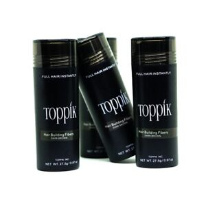 Dark Brown Black 27.5g Toppik Hair Building Fibers DELIVER WITH IN 3 - 5 Days