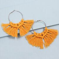 Fringe Boho Fashion Long Tassel Earrings Dangle Earrings Bohemian Jewelry Women