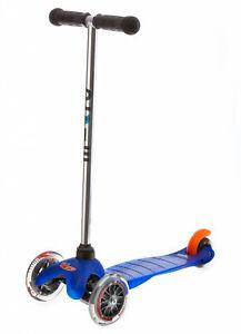 Mini Micro Classic Blau Kinder Scooter Patentierte Kickboard Gewichtslenkung