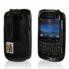 Turtleback Blackberry Bold 9900 Leather Fitted Phone Case with Plastic Belt Clip