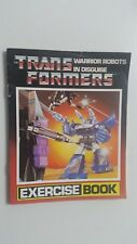 Transformers NOTEBOOK FROM ENGLAND 1984