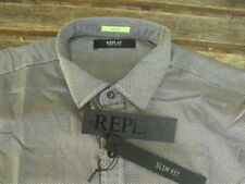 Replay Mens Shirt Slim Fit Size XL