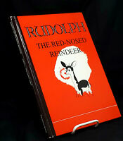 Rare Rudolph the Rednose Reindeer by Robert L May~1967 HC 1st Facimile Edition