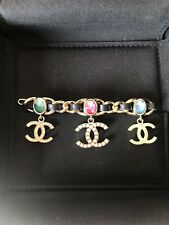 Chanel CC Jewel Tone Hair Barrette New! Sold Out!