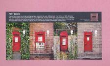 Great Britain, 2009 SG2954, Post boxes, Mint mini sheet
