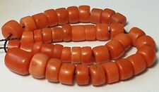 A BEAUTIFUL STRAND OF ANTIQUE INDO-TIBETAN NATURAL RED CORAL BEADS (20 Gram)