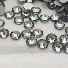 SWAROVSKI CRYSTAL 100x SS16 rhinestones diamanté grey GLUE ON flatback NO HOTFIX