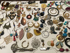 Single Earrings Lot Huge Vintage To Now