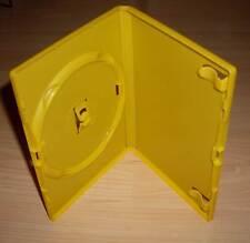 10 DVD Hüllen Case Cases 1fach DVDhülle Hülle gelb yellow farbig 1er Neu