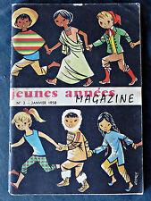 revue scolaire Jeunes années magazine N°3 1958 écoliers francs et franches cam.