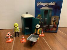 Playmobil 3275 Construction Port A Potty In Box Complete Vintage