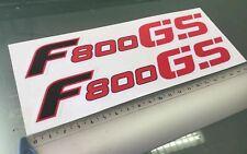 F 800 800 R Akrapovic Street Auspuff Aufkleber Hitzefest BMW F 800 800 GT