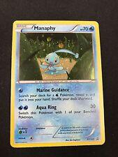 1X Manaphy XY190 HOLO FOIL Rare  -XY Black Star Promo- NM- Pokemon Mythical