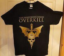 Overkill Sayreville New Jersey  Bon Jovi Spoof Official Tour Shirt Unworn Size L