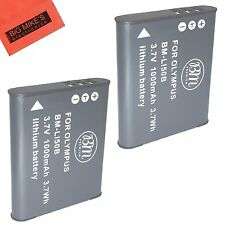 BM LI-50B 2X Batteries for Olympus SZ31MR iHS TG-610 TG-630 iHS TG-810 TG-820
