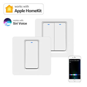 Smart Wifi Wall Light Switch App Siri Voice Control Work With Apple Homekit Home