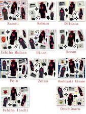 Naruto Akatsuki Cosplay Costume Hidan Uchiha Itachi Madara New whole Set