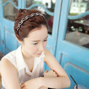 Women Twist Leaf Teeth Hair Bands Girls Hair Hoop Headband Hair Accessories