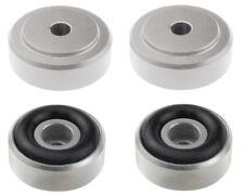 4 x Dynavox Aluminium-Füsse 20 x 10 mm Absorber / Entkoppler Geräte-Füsse 12732