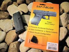 Saf T Blok & Glock 43 Magazine RH CONCEALED CARRY KIT Safety Safe Block Mag 9mm