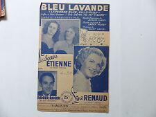 """Partition Bleu lavande film""""So dear to my heart""""LES SOEURS ETIENNE LINE RENAUD"""
