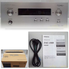 ONKYO DAC-1000 D / A Converter USB w/ AC Adapter, Instructions USED from Japan