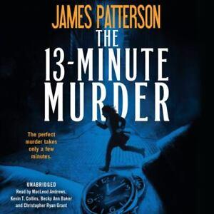 The 13-Minute Murder by James Patterson (2019, Unabridged) 8 CDs