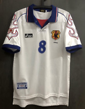 vintage soccer t shirts 1998 Japan National Away Jersey Nakata