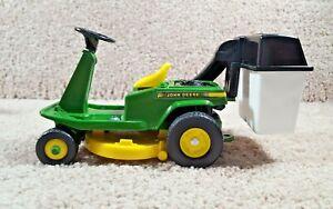 1990 ERTL 1/12 Scale Diecast John Deere Green Rear-Engine Riding Mower Tractor