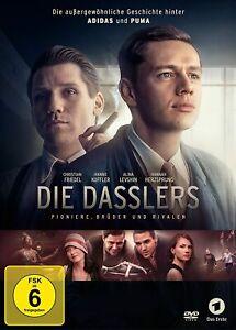"""Die Dasslers [DVD/NEU/OVP] Biopic / Brüder Dassler, Gründer von """"adidas""""und""""Puma"""