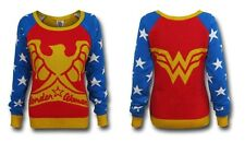 IAM WONDER WOMAN KNITTED SWEATER JUMPER COSTUME Authentic LADIES SML *NEW* RARE