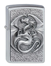 Zippo Briquet Dragon 3d emblème, Anne stokes Design Collection 2012 Nº 2002545