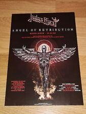 JUDAS PRIEST Rare Promo Poster Display Stand Tour Spain 2005,28x20-IRON MAIDEN