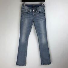 Silver Jeans - Mckenzie Slim Fit Light Wash - Tag Size: 25x32 (26x32.5) - #4052
