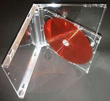 CUSTODIE CD JEWEL Doppio vassoio trasparente (50)