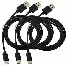 3X USB Typ C Datenkabel USB-C Ladegerät Ladekabel Data Kabel für Lenovo Moto Z