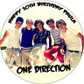 ONE DIRECTION ROUND EDIBLE PRINTED BIRTHDAY CAKE TOPPER DECORATION